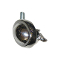 "2 1/2"" Steel Ball Caster With Brake - Chrome"