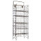 Wire Shelf Display Stand - Silver