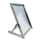 Folding Shoe Mirror With Metal Frame - Chrome