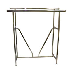 Double Bar Clothing Racks